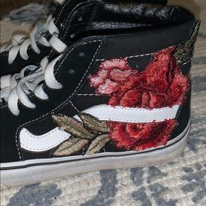 Vans High Top Embroidered